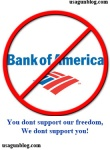 If you are a gun owner at Bank of America…it's time you left them